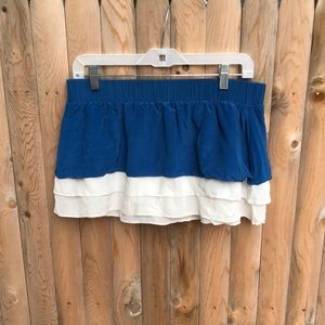 Marc By Marc Jacobs tiered silk swim skirt cover